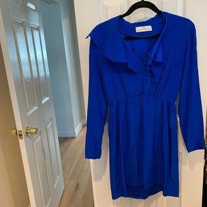 SILK DRESS BY AMANDA UPRICHARD